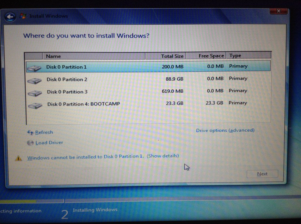Windows 7 Boot Camp-15