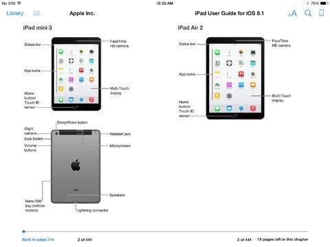 iOS 8.1 iPad - 1