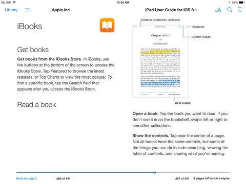 iOS 8.1 iPad - 2