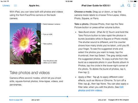 iOS 8.1 iPad - 5